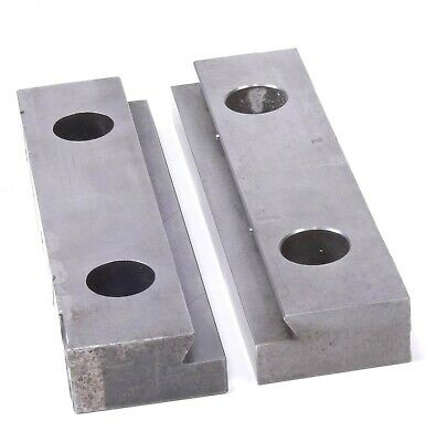 Kurt II PT800 / PTH800 Pair Of Jaws (Jaw Plate D80-7) 8  For Clamping Vise • 39.76£
