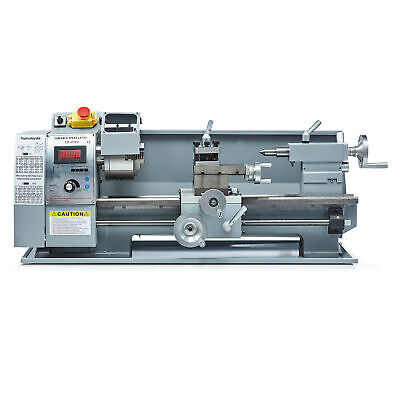 Automatic Mini Metal Lathe 8 X16  Variable-Speed DC Milling Motor 750w • 899.99£