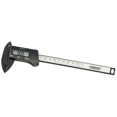 Draper 150mm Or 6  Carbon Fibre Digital Caliper Gauge (24816) • 29.16£