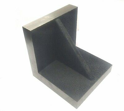 Caste Iron Solid Webbed Angle Plate 4  X 4  X 4  Stress Relieved • 34.61£