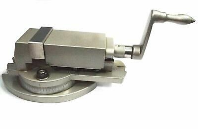 High Precision Milling Vise Swivel Base 3  (75 Mm) Milling Vice-Hardened Jaws • 153.08£