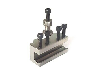 T37 Quick Change Tool Post Boring Vee Holder-Suits Myford & Similar Size Lathes • 18.99£
