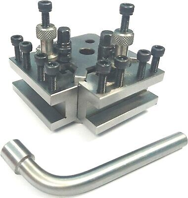 T37 Quick Change Tool Post Set+ 2 Holders-Myford & Lathe 90-115 Mm Center Height • 66.49£