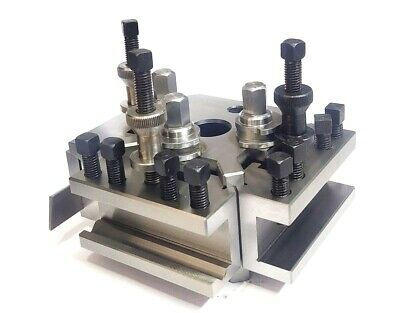 Dickson S2 / T2 Quick Change Tool Post Set For Colchester & Harrison Lathes • 303.05£