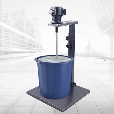 45~88cm Adjustable Pneumatic Paint Mixer φ12mm Mixing Machine 5 Gallon 20L Tank • 108.31£