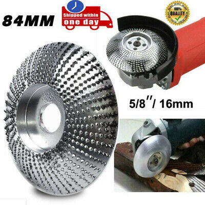 84mm Carbide Wood Sanding Carving Shaping Disc For Angle Grinder Grinding Whe JE • 10.76£