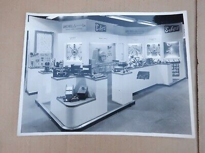 PHOTO OF ECLIPSE MAGNETIC,S STAND AT OLYMPIA MACHINE TOOL EXHIBITION 1960s • 10£