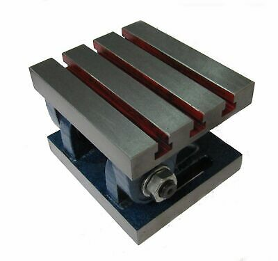 Rdgtools Swivel Adjustable Angle Plate 6 X 5 Tilts 90 Degrees Workholding • 67.50£