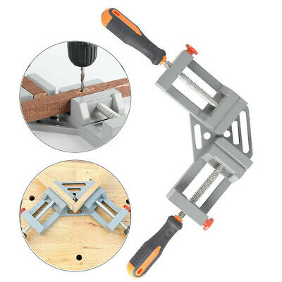 Right Angle Clamp 90 Degree Frame Corner Holder Double Handle Wood Metal Welding • 32.53£