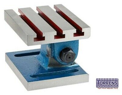 Adjustable Swivel Angle Plate 5  X 6  {Manufactured From High Grade Casting} • 115.04£