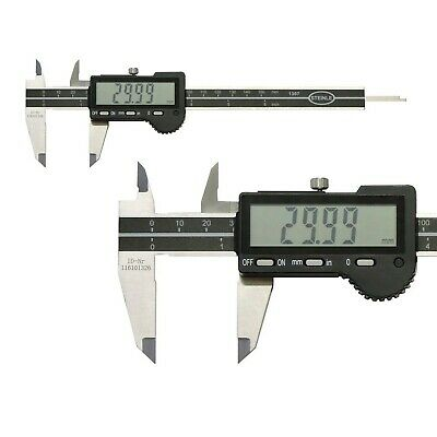 STEINLE 1307 Digital Vernier Caliper 200 Mm Reading: 0.01 Mm Depth Measuremen... • 160.11£