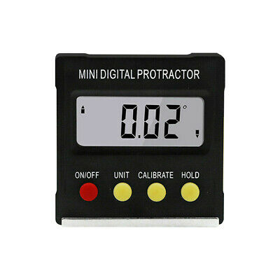 Cube Inclinometer Angle Gauge Meter Digital LCD Protractor Electronic Level Box • 12.24£