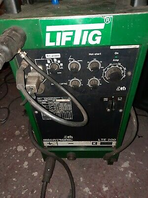 Migatronic Tig Welder Lift Tig  , Single Phase , 3 Phase Lte 200  • 650£
