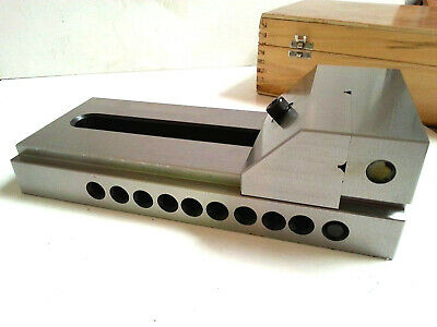 4  TOOLMAKER ( PIN TYPE ) GRINDING VISE Vice HARDENED 5  125MM JAW OPENING • 188.57£