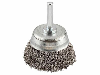 HSS Crimped Cup Brush 50mm Coarse KWB606230 • 7.23£