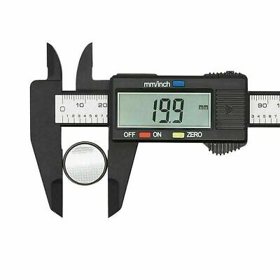 Digital Vernier Caliper Electronic Micrometer Ruler Gauge 6  LCD Display 150mm • 5.69£