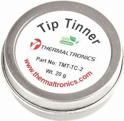 Lead Free Tip Tinner Soldering Iron Tips Container Cleaner Solder Residue ReTins • 7.70£