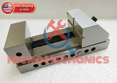 3'' Screwless Tool Making Grinding Precision Ground Vise .0002  Square Parallel • 89.12£