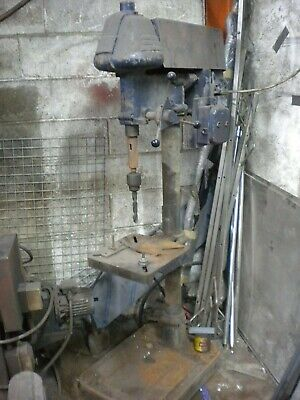 Drilling Machine Metal Stand 3phase Or 400v Flat Base Plate • 200£