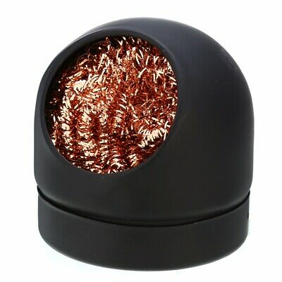Soldering Solder Iron Tip Cleaner Nozzle Copper Wire Ball Sponge BGA Holder Set. • 3.65£
