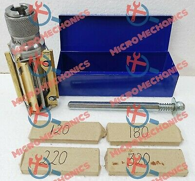 MOTORCYCLE , ATV SMALL BLOCK CYLINDER HONE KIT 50 MM To 75 MM + 4 SETS STONES • 88.33£