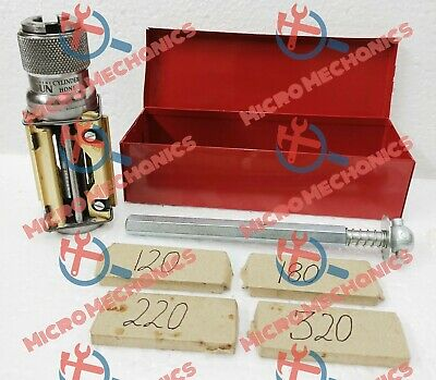 MOTORCYCLE , ATV SMALL BLOCK CYLINDER HONE KIT 50mm To 75mm + 4 SETS STONES • 90.49£