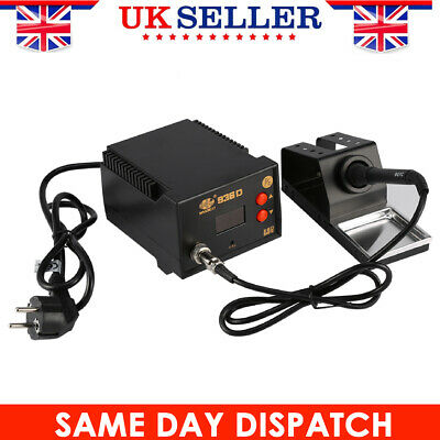 Digital 936D Soldering Iron Station Desoldering Hot Air Gun Rework Welding Set • 29.99£