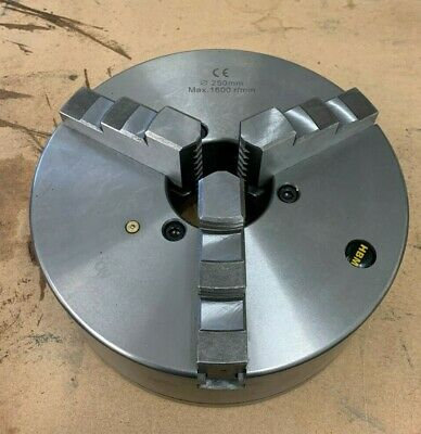 Shop Soiled 250mm 3 Jaw Self Centering D6 Lathe Chuck For Colchester Triumph • 230£