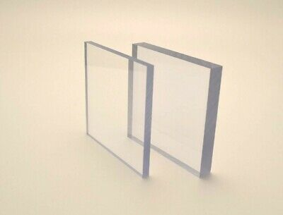 Clear Polycarbonate Lexan Makrolon Sheet Unbreakable Marlon Panel  • 18.58£
