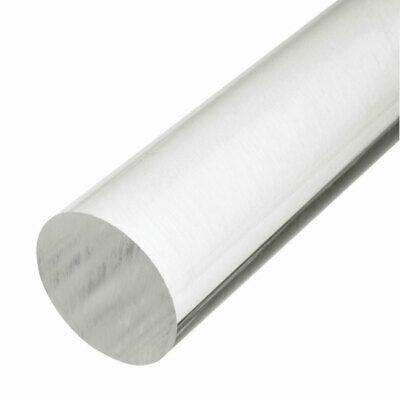 Clear Acrylic Rod 2mm - 50mm Diameter Round Perspex Bar 6 , 9 , 15  & 18  Length • 26.19£