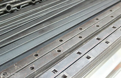 Punched 30 X 8 Mild Steel Flat Bar 2 Mtr Lengths Round & Square 12 Mm  Hole   • 13.05£
