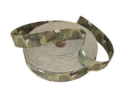 38mm / 1.5  Double Sided Original Crye Multicam Elastic ( Military Webbing MTP • 6£