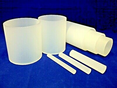 Frosted Acrylic Rod And Tube Extruded Satin Perspex Round Bar & Hollow Diffuser  • 97.09£