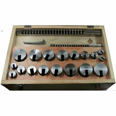 Keyway Broaching Set 1/8, 3/16, 1/4, 5/16, 3/8  Broach HSS • 395£