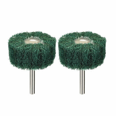 2 Inch Abrasive Wheel Buffing Polishing Wheel Green With 1/4 Inch Shank 2pcs • 5.21£