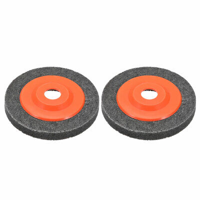 5 Inch Polishing Wheel Buffing Pad Felt Disc For 100 Angle Grinders Gray 2pcs • 6.12£