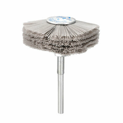 Abrasive Nylon Wheel Brush 600 Grits With 1/4 Inch Shank For Polish Grinder • 6.07£