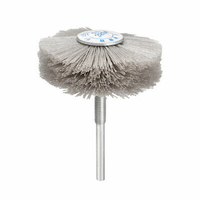 Abrasive Nylon Wheel Brush 320 Grits With 1/4 Inch Shank For Polish Grinder • 6.07£
