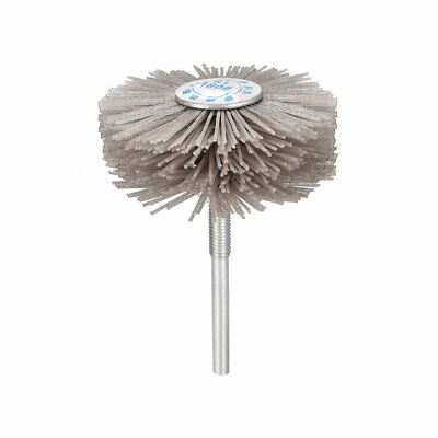 Abrasive Nylon Wheel Brush 180 Grits With 1/4 Inch Shank For Polish Grinder • 6.07£