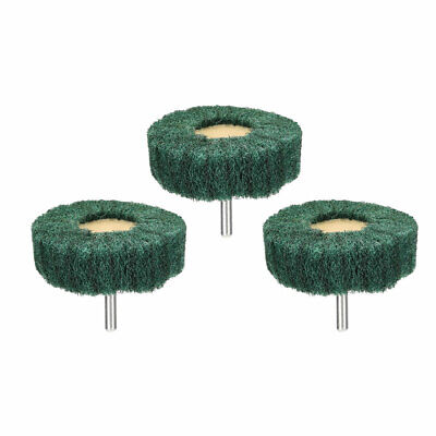 Abrasive Wheels 70mm X 25mm Buffing Polishing Wheels With 6mm Shank 3pcs • 7.01£