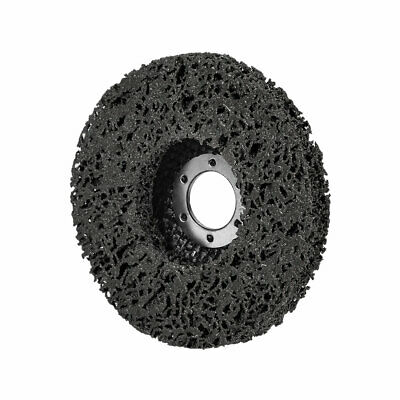 4.5 Inch Nylon Polishing Wheel Buffing Pad Felt Disc Black • 6.31£