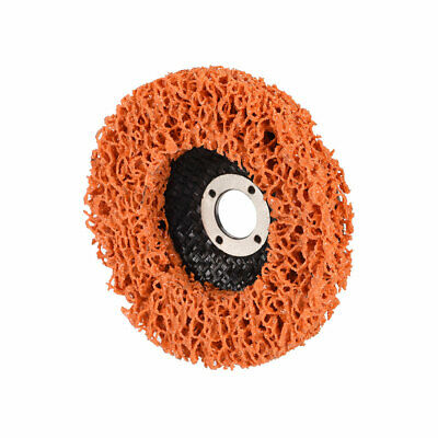 4 Inch Nylon Polishing Wheel Buffing Pad Felt Disc Orange • 6.55£