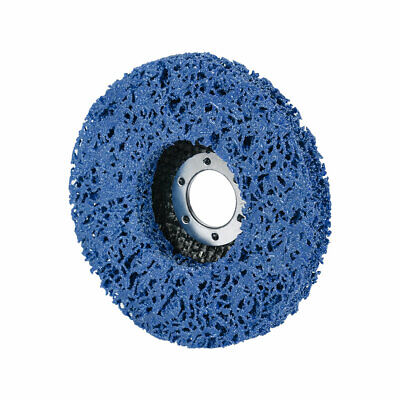 4.5 Inch Nylon Polishing Wheel Buffing Pad Felt Disc Blue • 6.92£