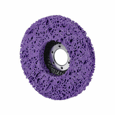 4.5 Inch Nylon Polishing Wheel Buffing Pad Felt Disc Purple • 6.92£