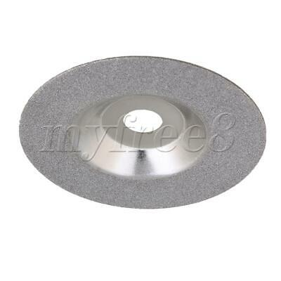 4 Diamond Coated Grinding Wheel Grinder Disc Silver For Saw Blade Sharpener • 14.89£