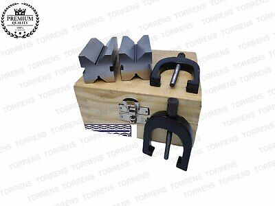 Precision Engineers Vee Block Clamp Set - V Block Set Of Two Pc 1-5/8  X 1-1/4   • 39.67£