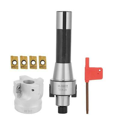 R8FMB22 Shank Face Shell Mill Arbor +400R 50mm Face End Mill Cutter 90° Cutting • 24.99£