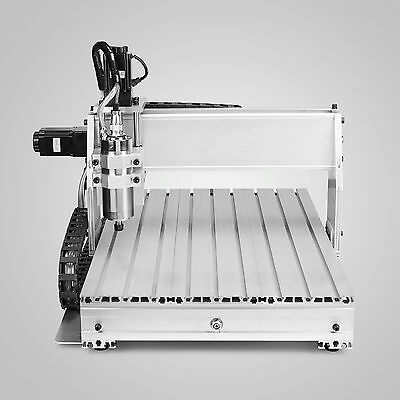 NEW 1.5KW 6040T 3 Axis CNC Router Engraver Machine 3D Cutter Drilling Carving • 703.97£