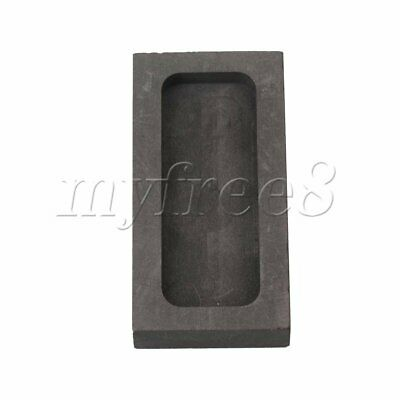 40x15x4mm Solid Crucible Graphite Oil Tank Industrial Accessories Black • 4.82£
