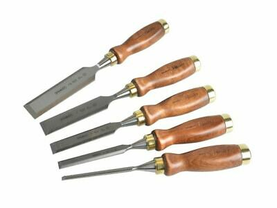 Stanley Tools Bailey Chisel Set Of 5 In Leather Pouch • 78.50£